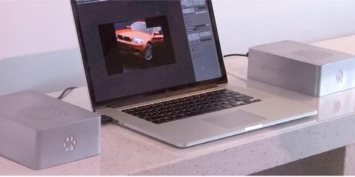 맥북프로에 연결하면…GPU 성능 10배로? - 테크홀릭