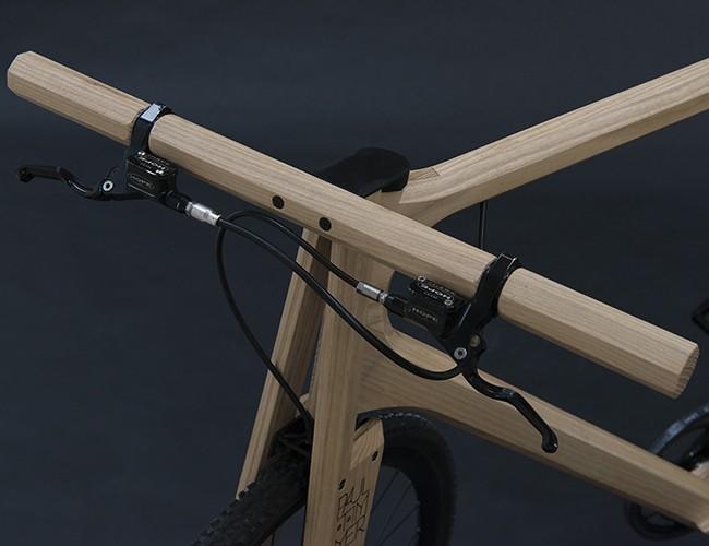 나무 프레임과 자전거가 만나면… - 테크홀릭