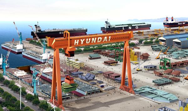 현대중공업, 그리스서 7.4억 달러 규모 LNG 운반선 4척 수주