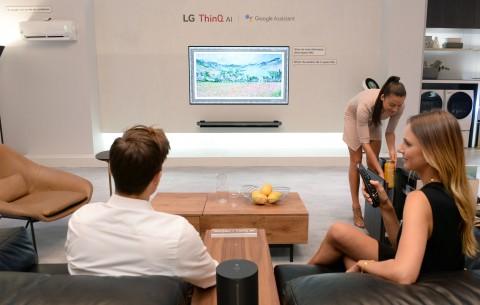 LG전자, IFA2018에 세계시장선도적 첨단AI제품 총 출격