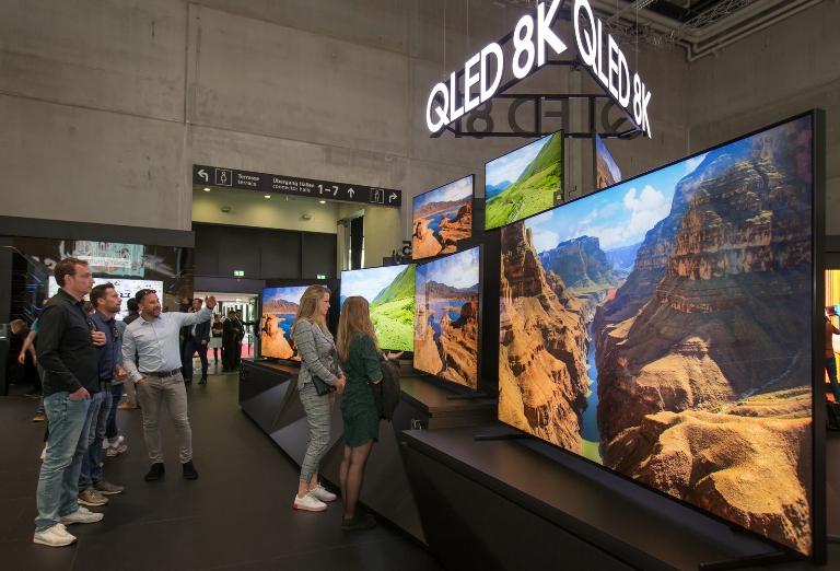 삼성전자 QLED TV, 여의도 면적 2배 크기 팔렸다-누적 판매량 540만대 돌파