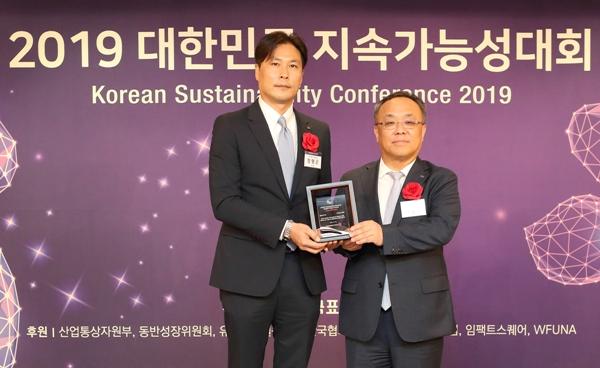 KT '대한민국 지속가능성 보고서상' 수상..여덟번째 영예